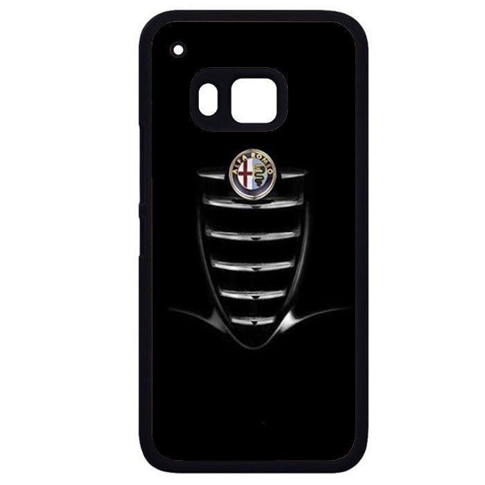 Alfa Romeo Black Giulia TATUM-470 HTC Phonecase Cover HTC One M7, HTC One M8, HTC One M9, HTC One X