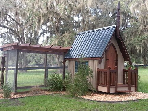 Cute coop for the fancy chickens I will have someday! EGG DROP COOP - BackYard Chickens Community