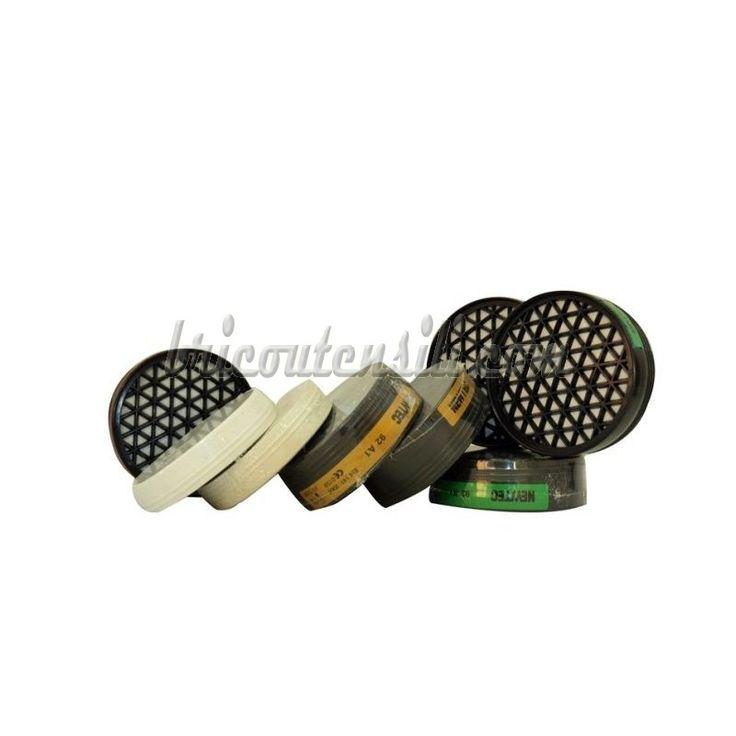 Filtro per Polveri Tossiche  Filtro per semimaschera in Gomma art. 7210 EN 141-143 - Adatto per : Polveri Tossiche e Fumi - P3 - EN 143 : 2000 + A1 : 2006 CE 0426