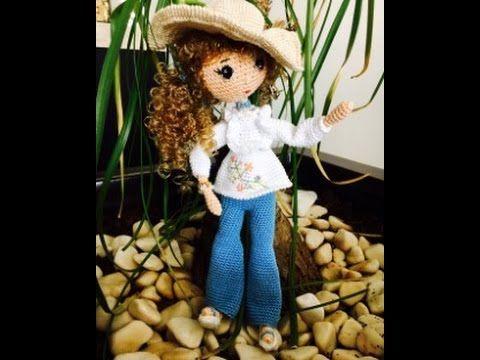 Como tejer muñeca Liliana Amigurumi By Petus Ochoa tutoríal  TERCERA PARTE - YouTube