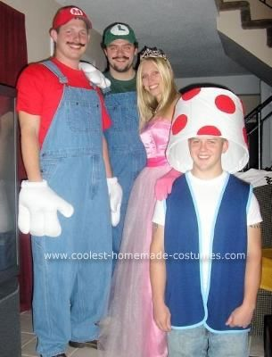 Homemade Halloween Costumes And Brother On Pinterest  sc 1 st  Meningrey & Homemade Mario Brothers Costumes - Meningrey