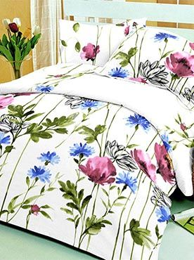 This floral pattern in prints like painted brushstrokes is perfect for a subtle but definitive look. This classy look meets top quality in our bed products. The set of double bedsheet with two pillow covers is made of 100% cotton fabric that is of the best quality. It guarantees longevity through wear and washes. The colours will remain fresh and the fabric will remain soft and comforting. If you want the best for your bed, you need look no further. Info