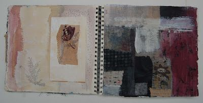 Thread and Thrift: Sketchbook page