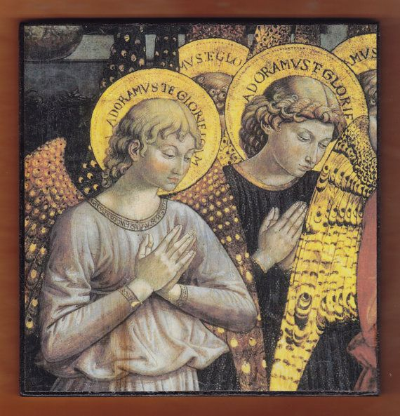 Angels by Benozzo Gozzoli Italian Renaissance painter by teogonia