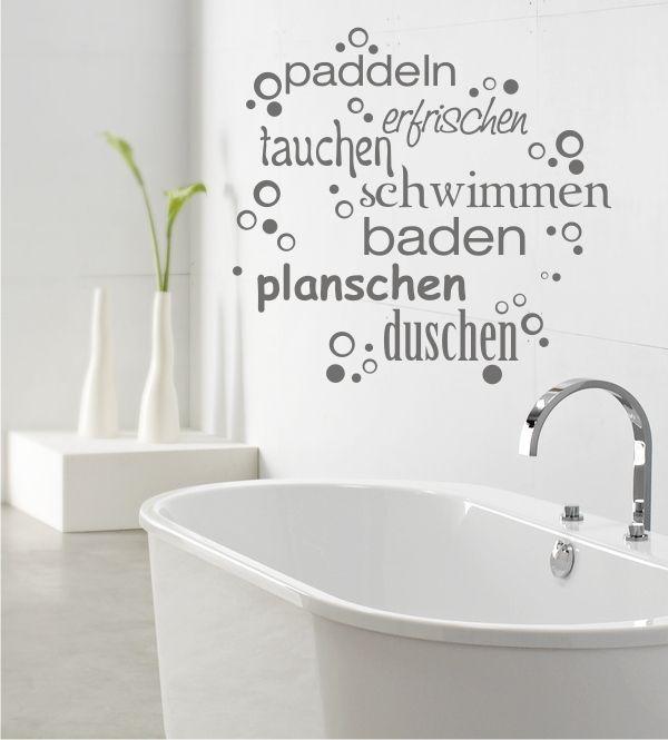 40 besten wanddeko f r badezimmer bilder auf pinterest badezimmer design einzigartig und motive. Black Bedroom Furniture Sets. Home Design Ideas