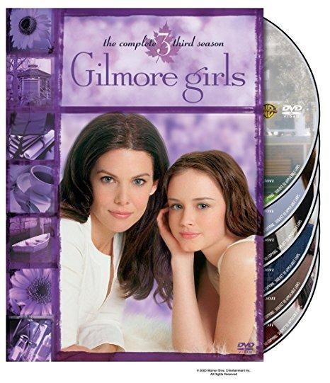 Gilmore Girls: The Complete Third Season (DVD / Repackage / Box set / 6 Discs) Scott Patterson, Yanic Truesdale