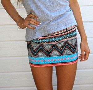 love the print and pop of colors