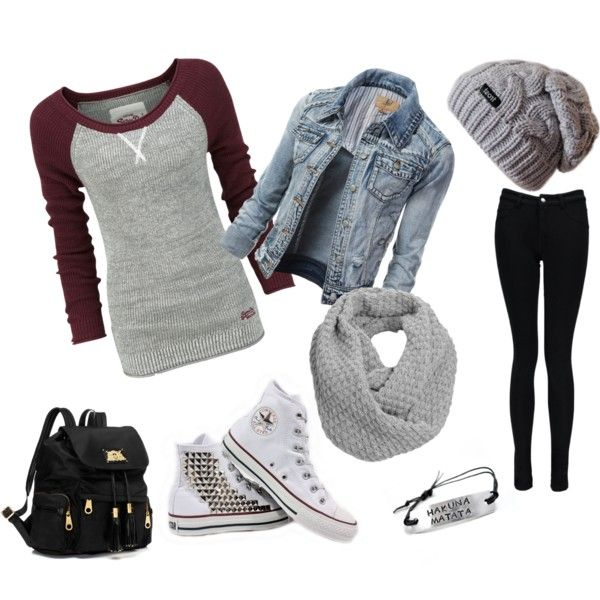 """""""School Outfit"""" by daphny-b5 on Polyvore aka total hipster"""