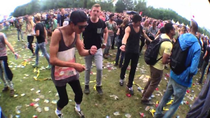 Dutch Ravers Dance To 'The Benny Hill Show' Theme Song 'Yakety Sax'