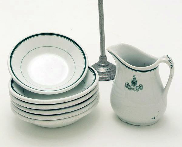 Restaurant dishes : vintage style tableware - pezcame.com