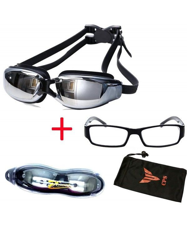 9ec96571d7 Nearsighted Swimming Goggles UV Protection Anti Fog Scratch ...