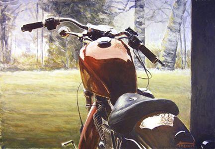 Angvert. Oil on canvas. Ca 800 mm.
