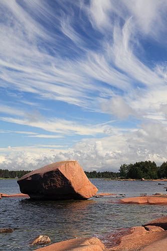 Yttergrund Island, Finland, Gulf of Bothnia, Baltic Sea