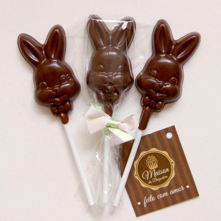 Páscoa - Pirulito de Chocolate 01