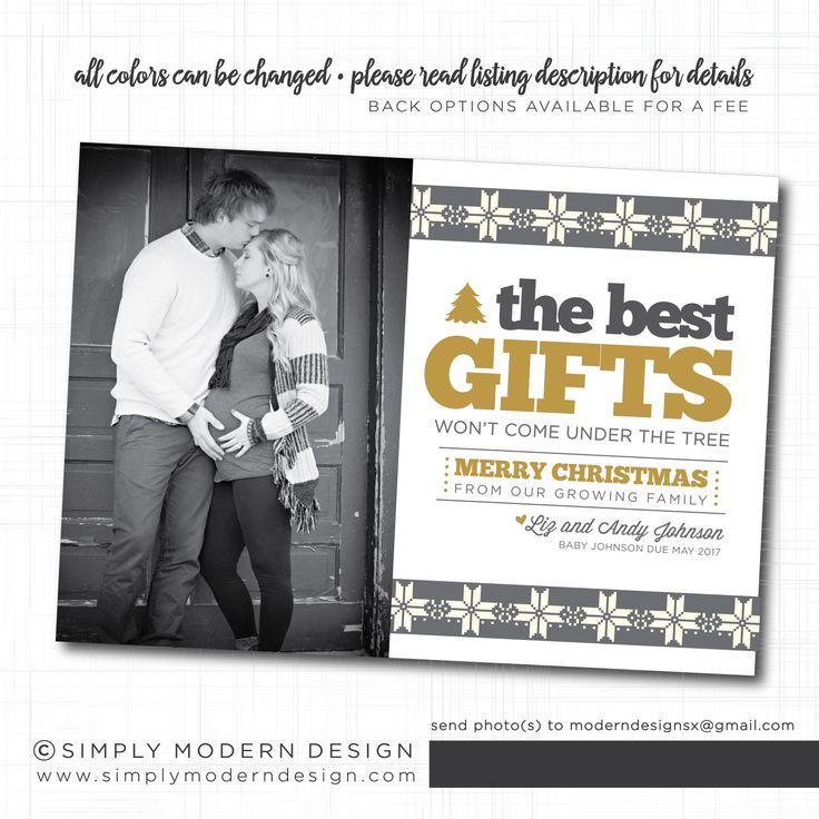 Christmas Cards Announcing Pregnancy] Pregnancy Announcement ...