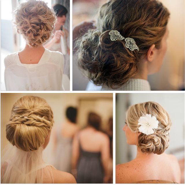 Peinado para novias mo o bajo un cl sico para bodas for Monos novia