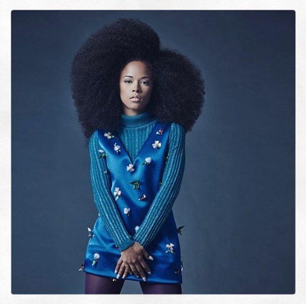 Serayah Mcneil van Empire's Fab Fotoshoot voor Bello Magazine