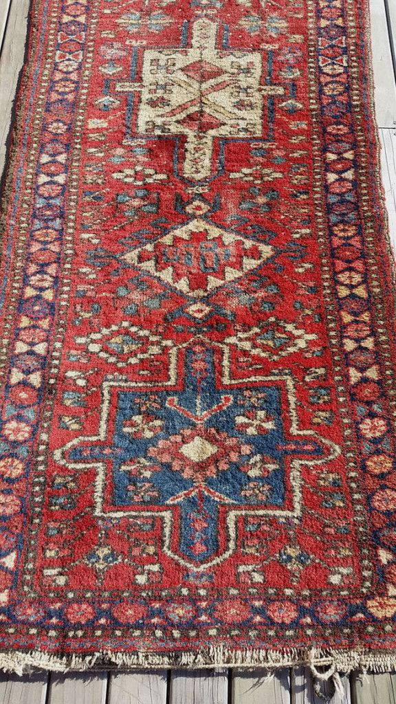 Latest Second Hand Find - best way to buy a lush wool rug.