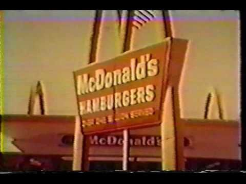 Late 1960s McDonalds Commercials