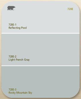 Behr 720E - Light French Gray