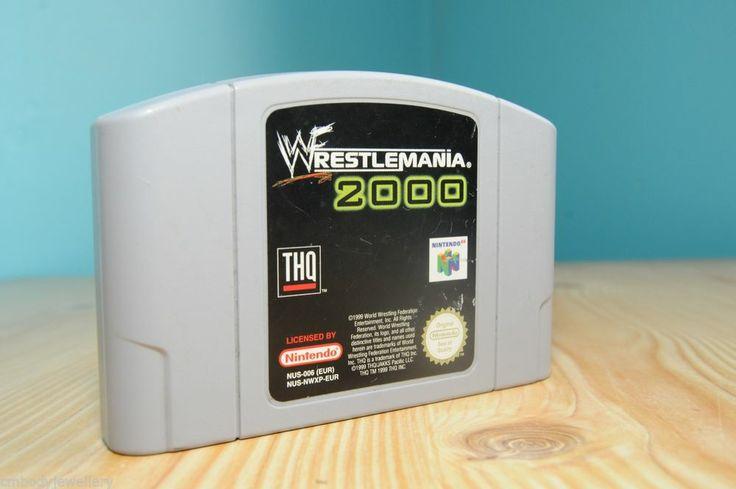 NINTENDO N64 GAME CART - WRESTLEMANIA 2000