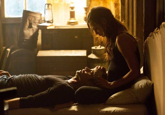 "Elijah and Hayley in The Originals Season 1, Episode 8: ""The River in Reverse"""