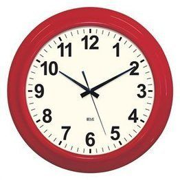 Wall Clock Classic Red