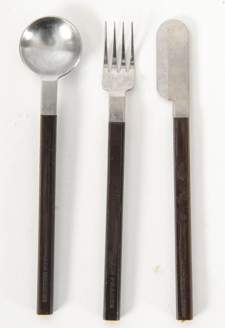 Raymond Loewy Cutlery for Air France Concorde Service