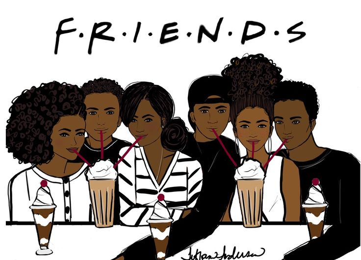 I'll be there for you…. - Tiffani Anderson Illustration