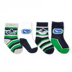 Gertex Vancouver Canucks Toddler Sock 4-pack - Shop.Canada.NHL.com