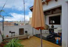 Property for renovation in Palma for sale: penthouse with terrace in Santa Catalina