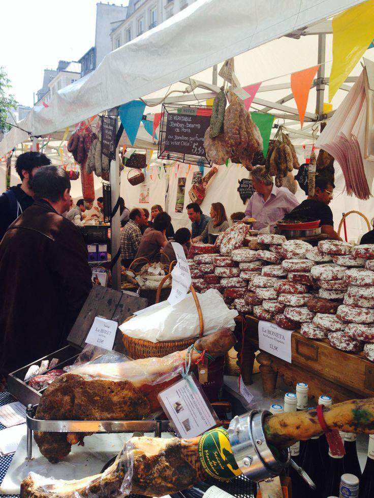 KINSA in Paris - Farmers Market, Marais