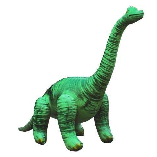 Inflatable-Brachiosaurus-Kid-Play-Water-Plastic-48-W-x-27-H-New