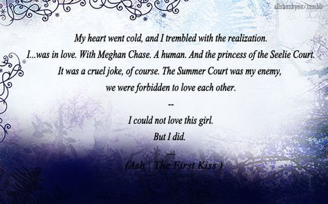 Quote from The Iron Fey Series