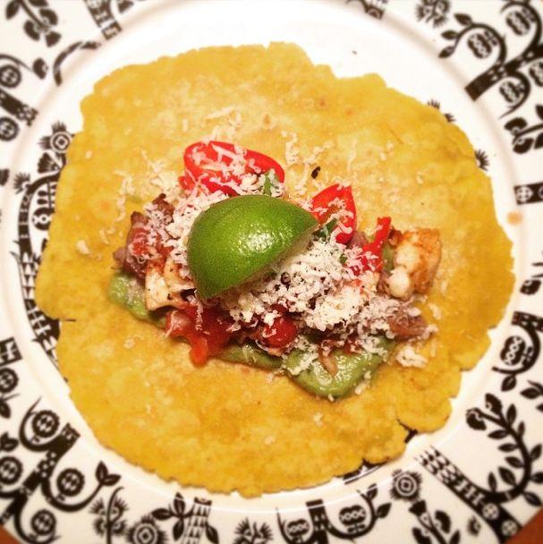 Meksikolaiset tortillatacot