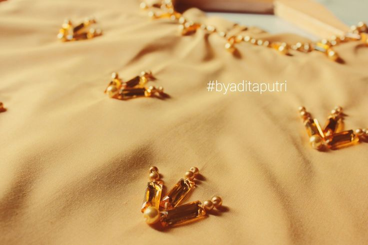 #beading #embellished #embellishment #kebaya #details
