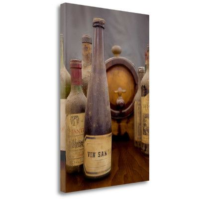 Tangletown Fine Art 'Antico Cantina Vin Santo' by Alan Blaustein Photographic Print on Wrapped Canvas
