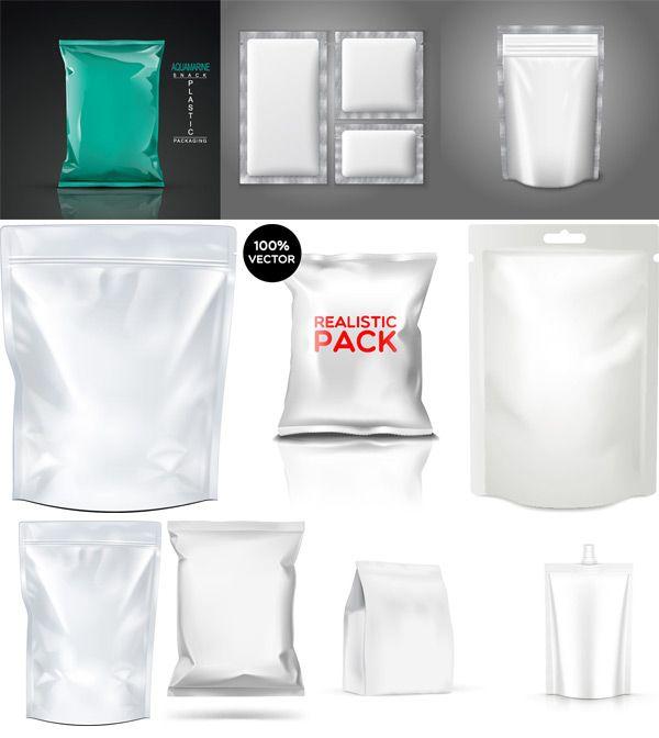 空白产品包装