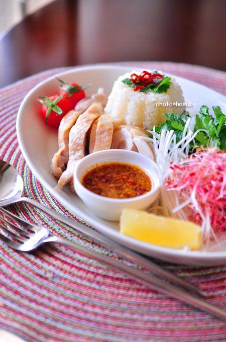 Hainanese Chicken Rice シンガポールチキンライス - 海南鶏飯