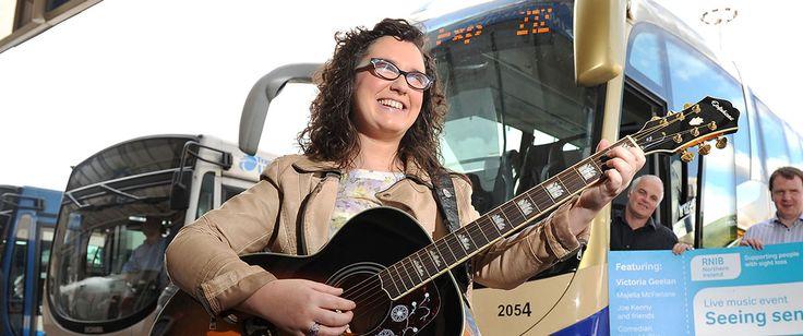 RNIB NI Welcome The Voice UK Winner Andrea Begley As Ambassador #RNIB #Insight #TheVoiceUK