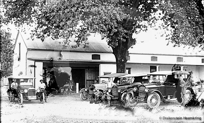 Paarl's first motor dealerships