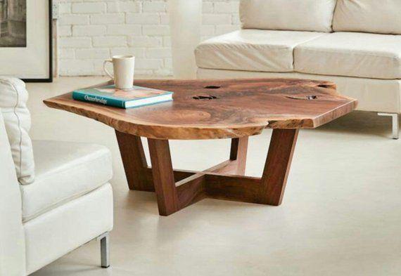 Table Collection Wood Modern Minimal Rustic Natural Natural
