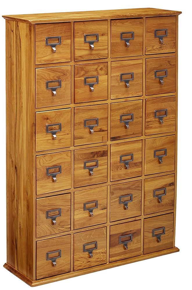 The High Quality Solid Wood Construction And Hand Finished Details Ensure Years Of Stylish Clutter Free Storage I Library Cabinet Media Cabinet Card Files