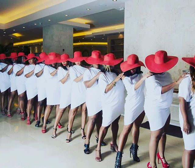 This is how the lovely ladies of Delta Sigma Theta Sorority Incorporated rock…