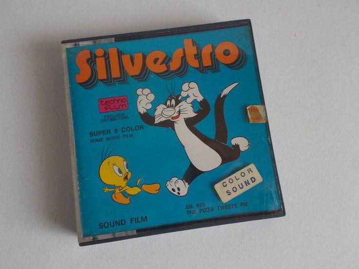 SILVESTRO (1972) WARNER BROS. - SUPER 8 COLOUR HOME MOVIE FILM