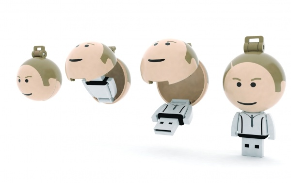 The USB BALL PEOPLE are a unique USB storage drive that is available in memory sizes from 1 Gb to 16 Gb. Choose from one of our many standard designs or create your own custom outfit with 250 MOQ.