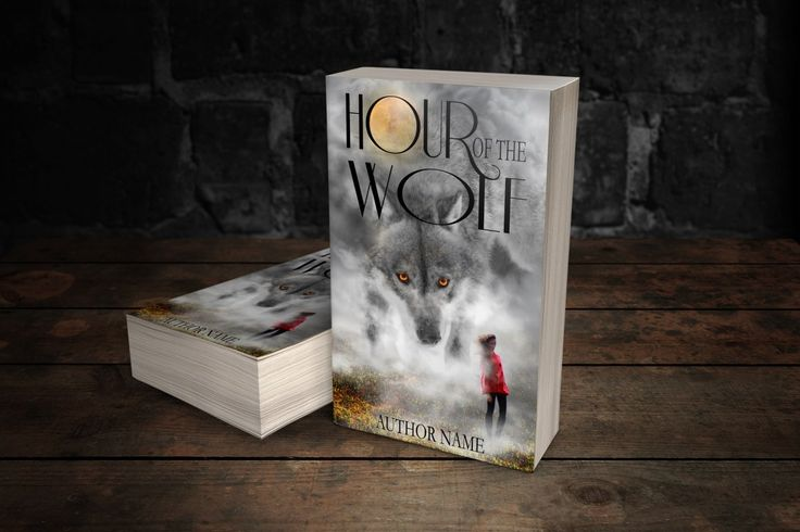 Hour Of The Wolf- Print Predesigned book cover www.dropdeaddesigns.com  #bookcovers #custombook #ilovebooks #bookstagram #indieauthor #indiewriter #iwrite
