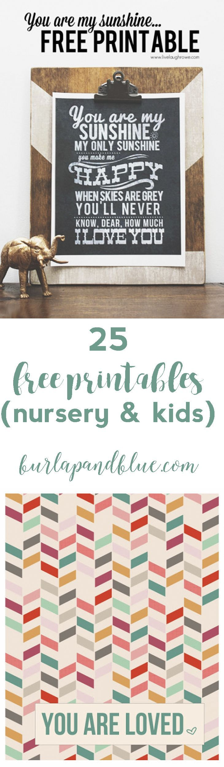 318 best Free Printables KidsNursery images by Little Gold Pixel