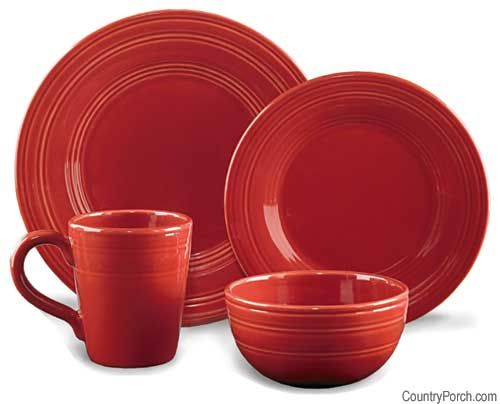 Persimmon Casual Classics Dinnerware by Park Designs at The Country Porch