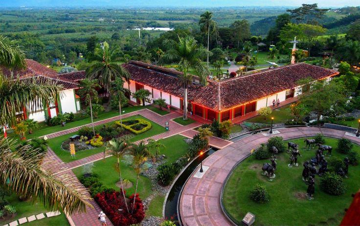 IMAGEN DEL DIA. Parque Nacional del Café Colombia. El Parque Nacional del Café se inauguró el 24 de febrero de 1995. Para dirigirlo y administrarlo se constituyó la Fundación Parque de la Cultura Cafetera,  http://mostrarmealmundo.com/